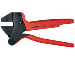 Knipex Crimp-Systemzangen für auswechselbare Crimpeinsätze 97 43 200